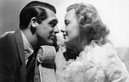 WHEN YOU'RE IN LOVE, from left, Cary Grant, Grace Moore, 1937