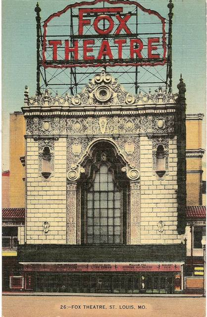 The Fox Theatre,St.Louis