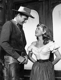 With Eric Fleming. RAWHIDE
