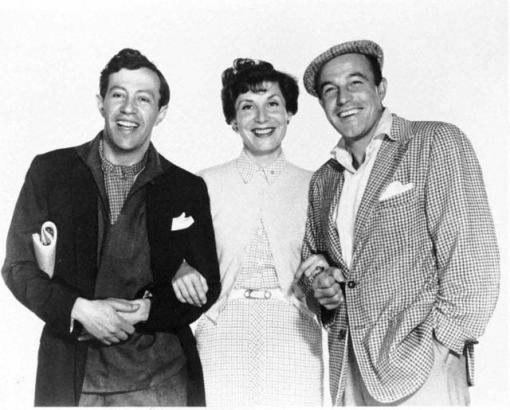 Adolph Green, Betty Comden,Gene Kelly