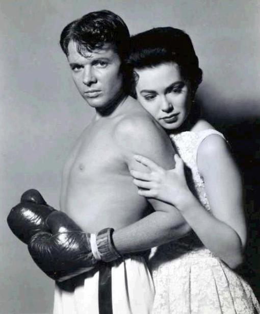 With Audie Murphy