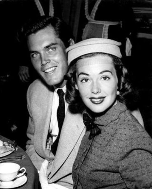 With Jeffrey Hunter