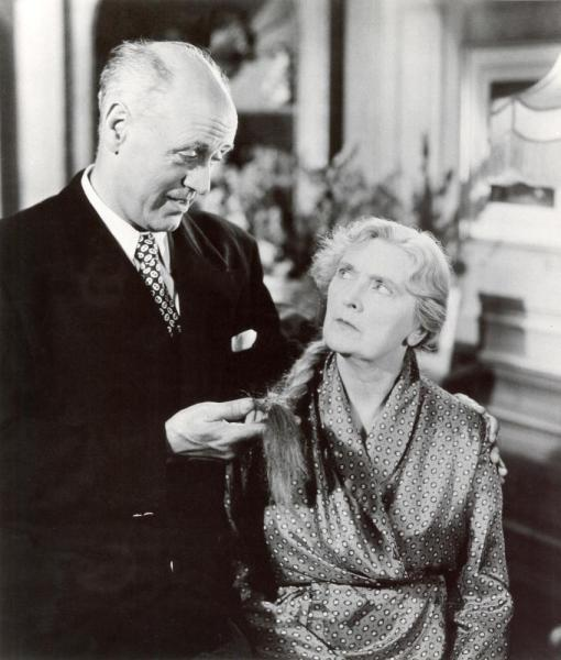 STAGE FRIGHT, Alastair Sim, Sybil Thorndike, 1950