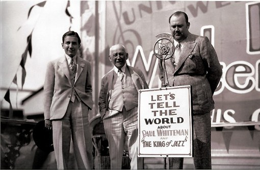 The Laemmles and Paul Whiteman