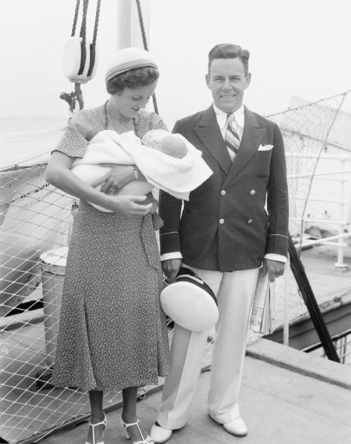 Mary with Franklyn Thorpe and their baby Marylyn
