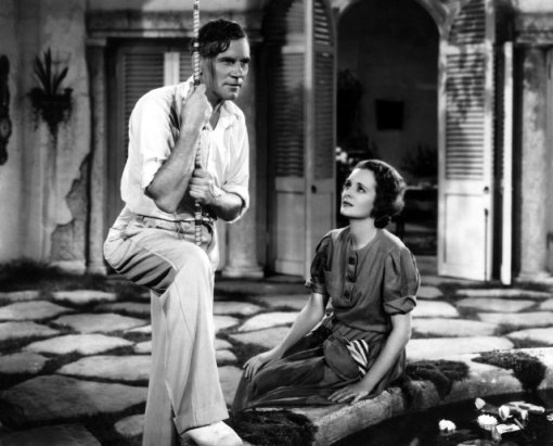 with Walter Huston in DODSWORTH